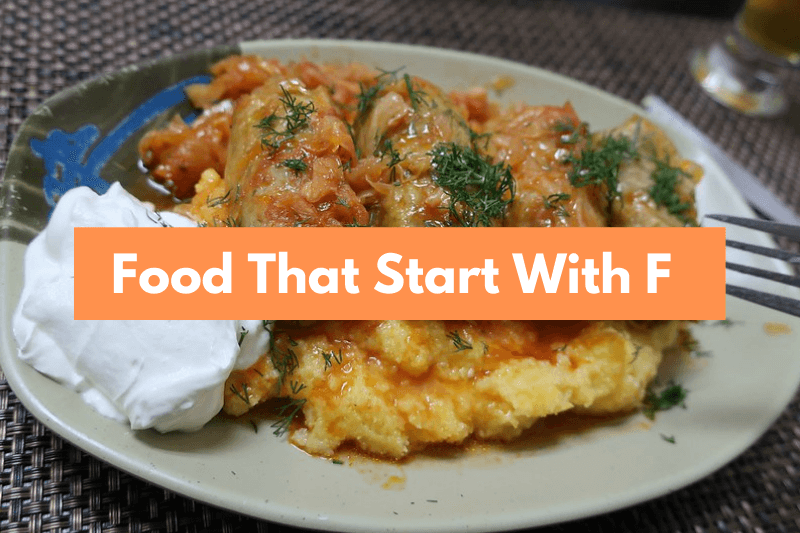Food That Starts with F